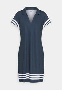 Cross Sportswear - STRIPE DRESS - Sports dress - navy - 0