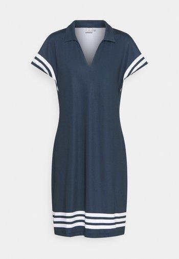 STRIPE DRESS - Jurken - navy