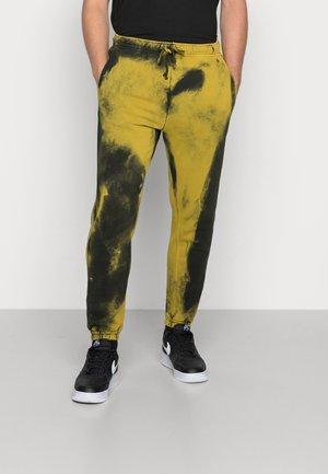Verryttelyhousut - yellow/black