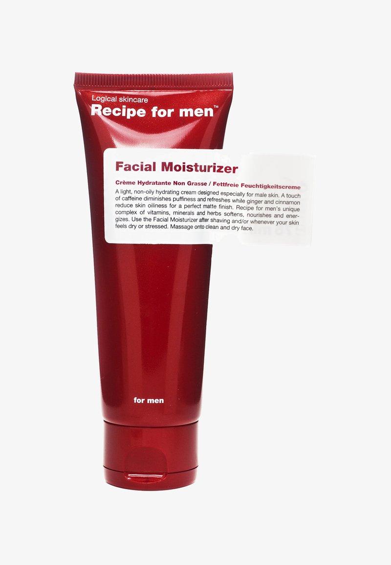 Recipe For Men - FACIAL MOISTURIZER 75ML - Dagkräm - -