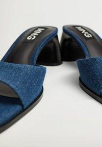 Mango - Sandals - bleu moyen - 5