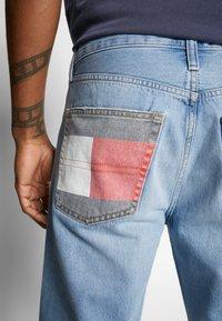 Tommy Jeans - REY - Denim shorts - light-blue denim - 3