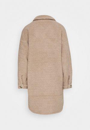 JDYSTELLA JACKET  - Zimní kabát - beige