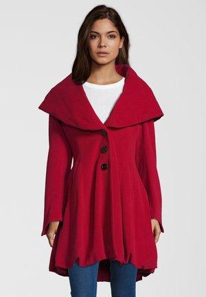 ALVY - Classic coat - red