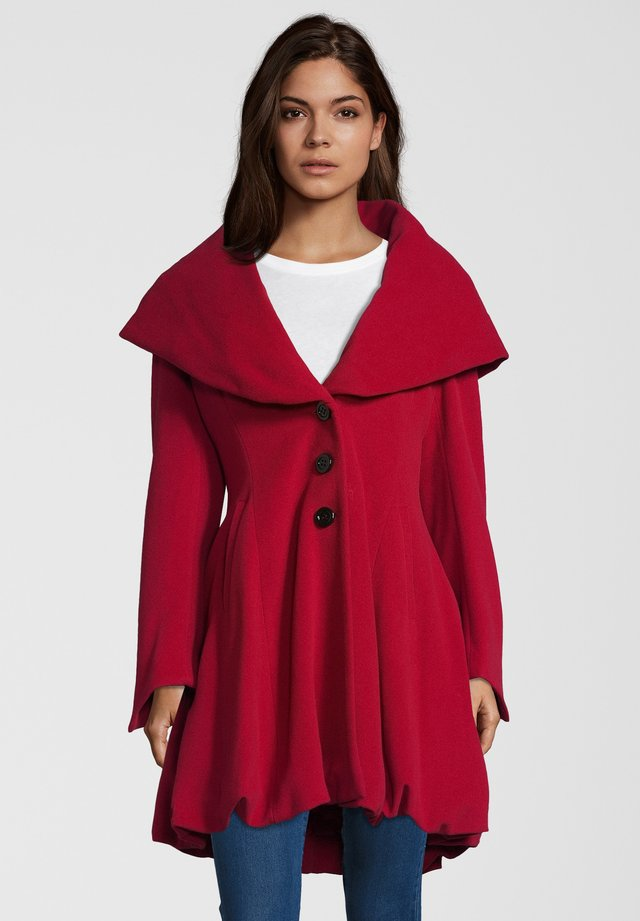 ALVY - Classic coat - red