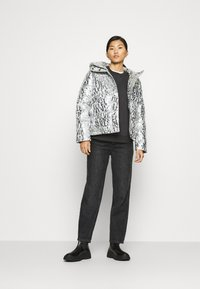 Calvin Klein Jeans - LOGO PUFFER - Winter jacket - silver - 1