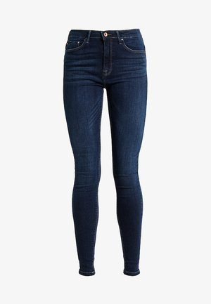 ONLPAOLA  - Vaqueros pitillo - dark blue denim