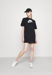 Nike Sportswear - DRESS FUTURA - Vestido ligero - black - 1