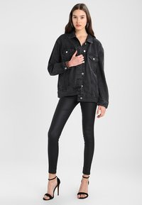 Missguided - OVERSIZED JACKET - Cowboyjakker - black - 2