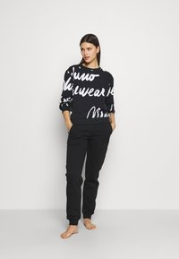 Moschino Underwear - Pyjama top - black/white - 1