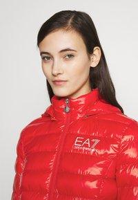 EA7 Emporio Armani - Lehká bunda - rose red - 5