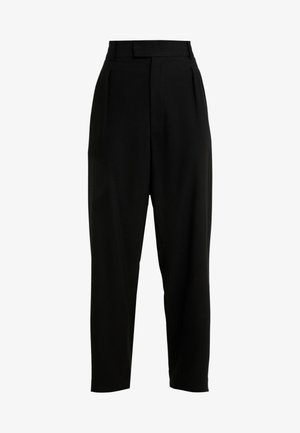 COLT PANTS - Tygbyxor - black
