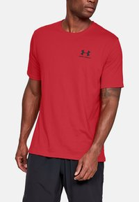 Under Armour - Basic T-shirt - red - 2