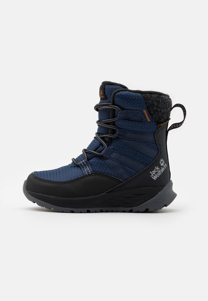 Jack Wolfskin - POLAR BEAR TEXAPORE HIGH UNISEX - Winter boots - blue/black