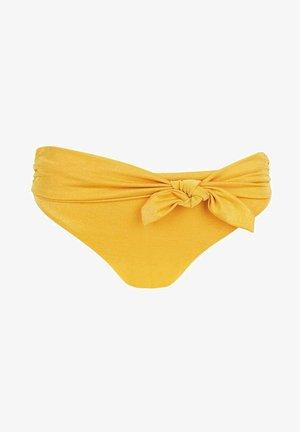 IRENE - Bikini bottoms - gelb - 194c - sand yellow shine