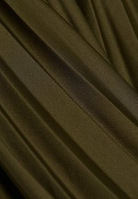 Esprit - MIT ELASTIK-BUND - A-line skirt - khaki green - 6