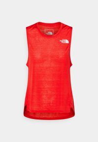 The North Face - UP WITH THE SUN TANK  - Topper - horizon red - 0