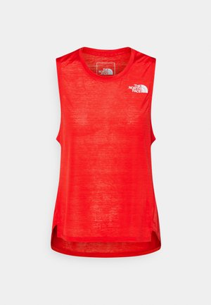 UP WITH THE SUN TANK  - Top - horizon red