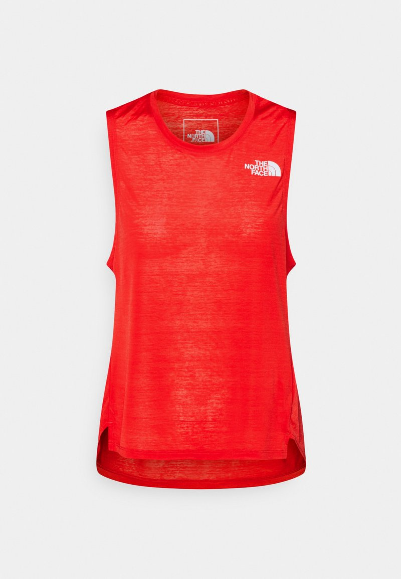 The North Face - UP WITH THE SUN TANK  - Topper - horizon red