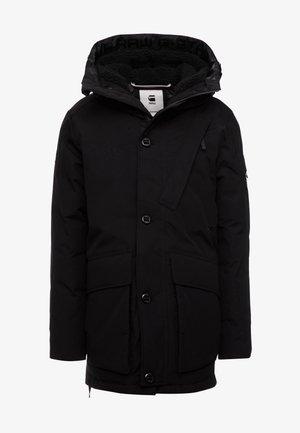 SHORT - Winterjas - dark black
