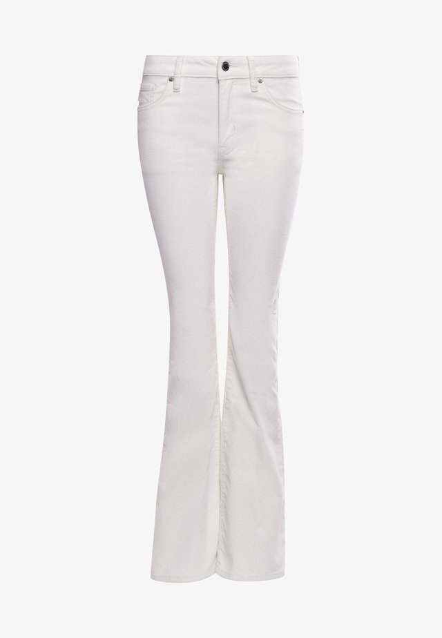 Jeans a zampa - oyster