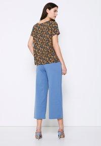 ICHI - TESSA - T-shirts med print - black - 3