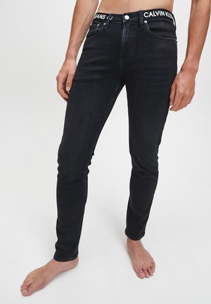 Jeans Skinny Fit - black  waistband