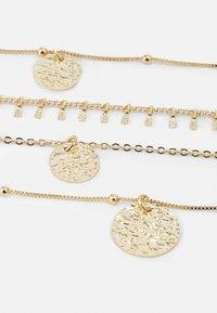Pieces - PCSANJA COMBI NECKLACE - Necklace - gold-coloured - 2