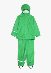 CeLaVi - BASIC RAINWEAR SUIT SOLID - Regnbukser - green - 0