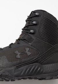 Under Armour - VALSETZ RTS 1.5 - Hiking shoes - black - 5