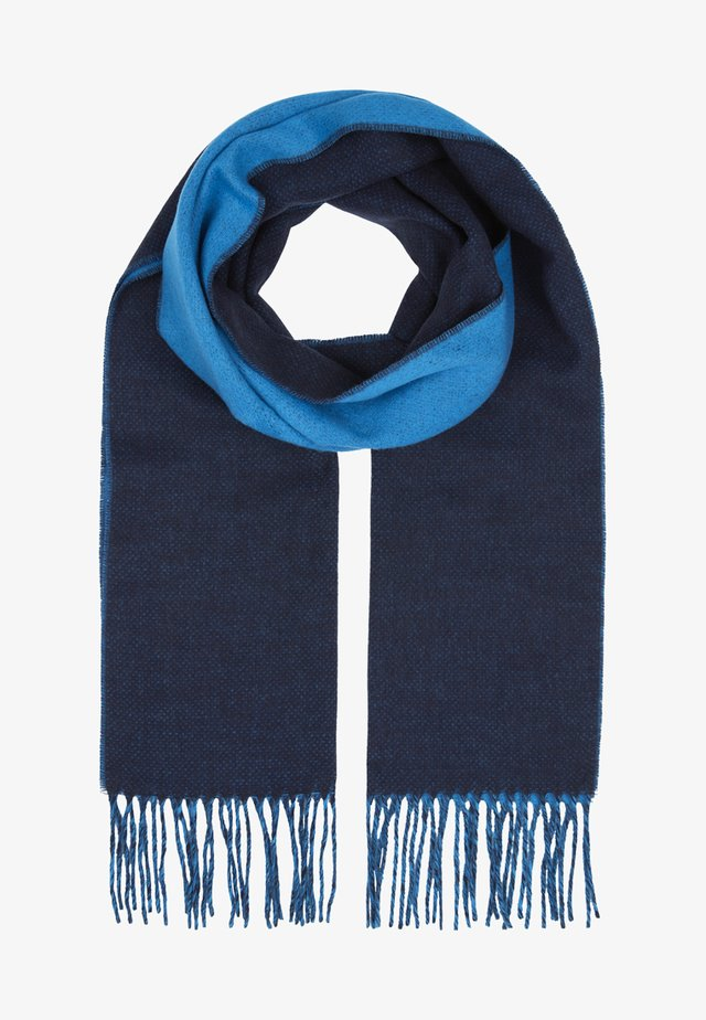 DOUBLE FACED  - Scarf - dark blue
