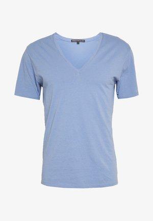 QUENTIN - Basic T-shirt - blue