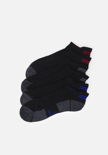 MENS SNEAKER 6 PACK - Sports socks - black