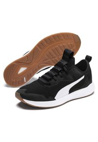 Puma - NRGY NEKO SKIM - Neutral running shoes - black/white - 3