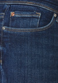 ONLY - ONLCORAL LIFE - Vaqueros pitillo - dark blue denim - 2