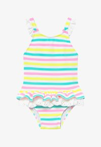 Sunuva - STRIPE BROIDERIE SWIMSUIT - Swimsuit - multi - 2