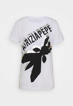 LOGO SHIRT - Print T-shirt - bianco ottico