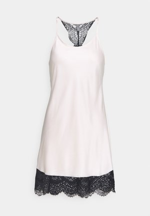 CHEMISE - Nightie - powder/black