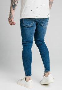 SIKSILK - DISTRESSED RIOT - Jeans Skinny Fit - midstone - 4