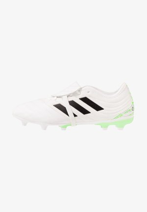 COPA GLORO 20.2 FG - Moulded stud football boots - footwear white/core black/signal green