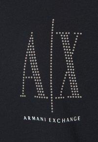 Armani Exchange - VESTITO - Jersey dress - navy - 2