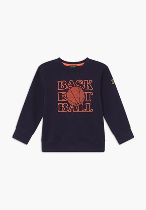 KIDS 3D COOL BOYS BASKETBALL - Sweater - nachtblau