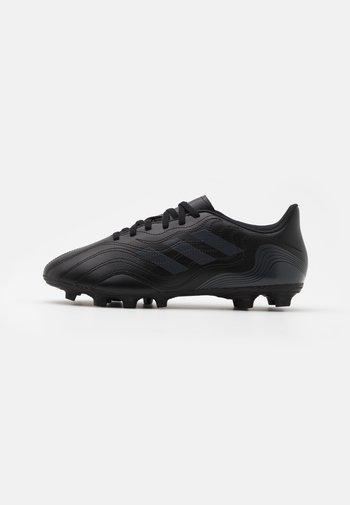 COPA SENSE.4 FXG - Moulded stud football boots - core black/grey six