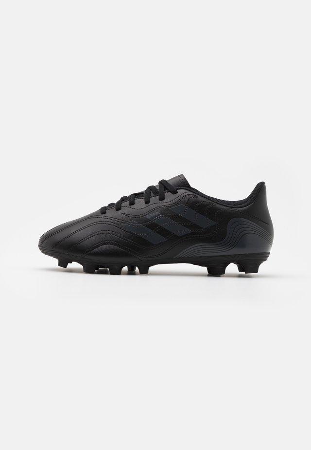 COPA SENSE.4 FXG - Voetbalschoenen met kunststof noppen - core black/grey six