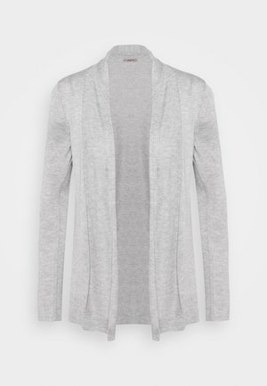 Strickjacke - grey melange
