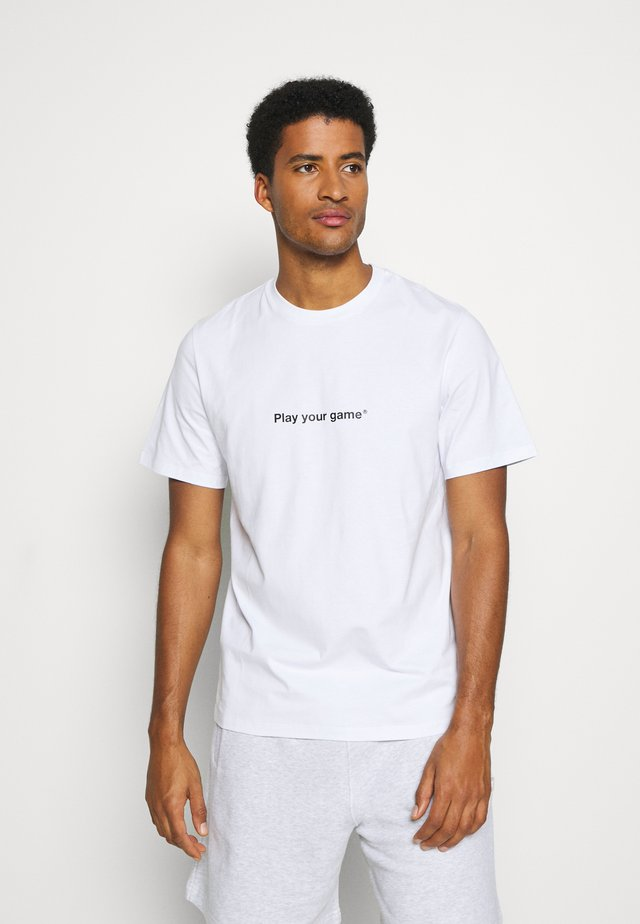 T-shirt print - optical white