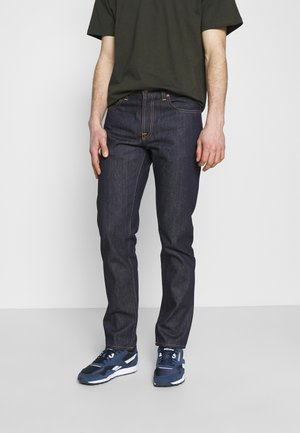 GRITTY JACKSON - Jean droit - dark blue denim