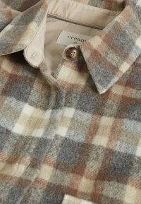 Cream - TARACR OZ SHIRT - Classic coat - feather gray check - 6