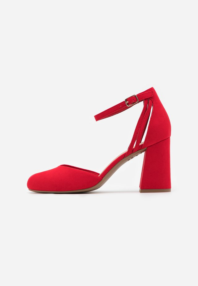WIDE FIT SHUTTER  - Escarpins à talons hauts - bright red