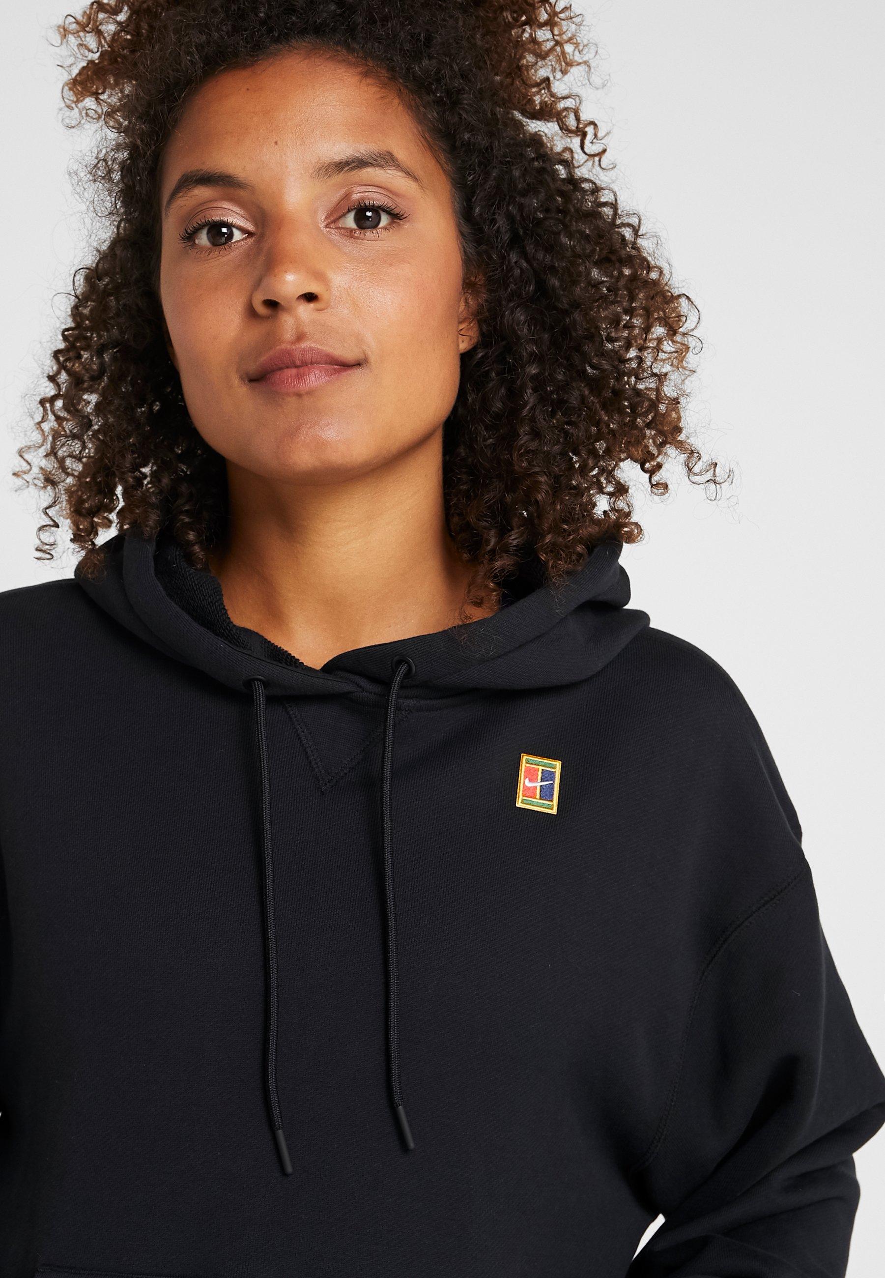 Nike Performance HERITAGE HOODIE - Huppari - black cnZQm